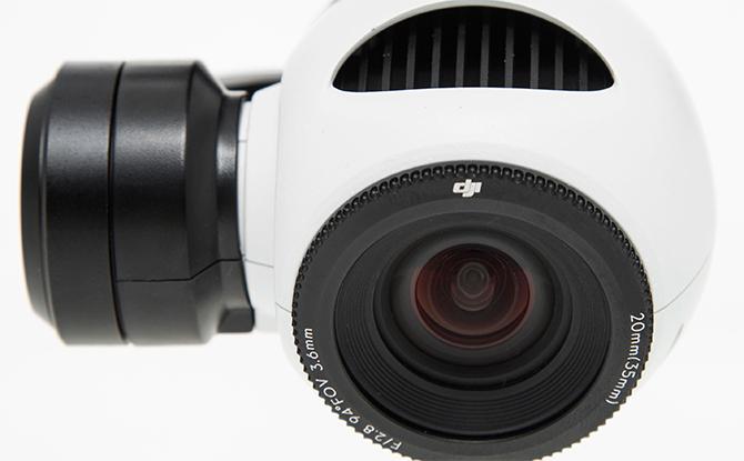 DJI Inspire 1 4K kamera
