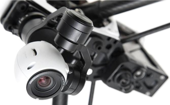 DJI's Inspire 1 - kameraet optager i 4K