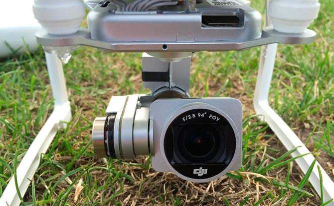 DJI Phantom Standard drone med kamera