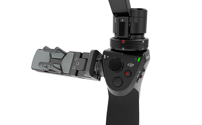 DJI OSMO, kamera, gyro