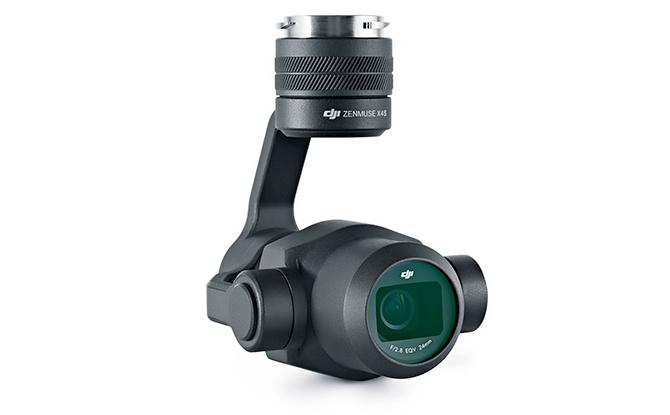 DJI Inspire 2 - X4S kamera