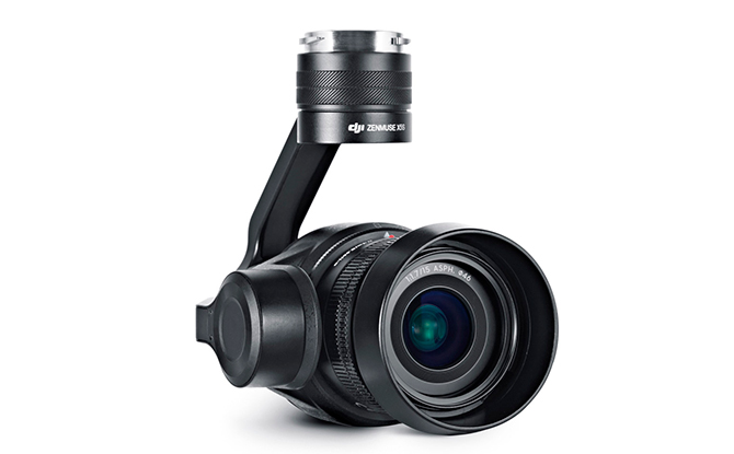 DJI Inspire 2 - X5S kamera